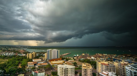 Approaching afternoon storm - The city of Darwin experiences some of the most spectacular, and frequent thunderstorms anywhere on the planet. Here another...