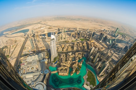 'At the Top' Burj Khalifa - The views from 'At the Top' at the Burj Khalifa in Dubai are nothing short of spectacular. Unmissable if you visit Dubai, The...