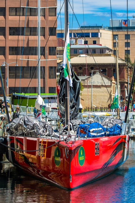 'Comanche' - A 100 foot maxi yacht, 'Comanche' is the current record holder for the blue water classic Sydney-Hobart yacht race.  She also holds transatlantic...