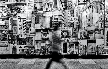 MTR Station artwork - Many stations on Hong Kong's vast MTR network feature wonderful artworks. This photographic mural can be found at Sai Ying Pun on...