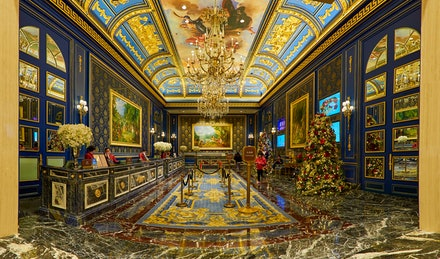 The Parisian Macau Lobby - The Parisian Macao is a luxury hotel in Cotai, Macau, China owned by Las Vegas Sands. The property has approximately 3000 hotel...