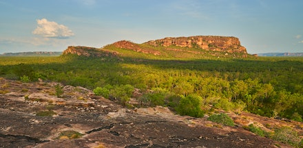Nourlangie (Burrungkuy) - A famous location in Kakadu is the Nourlangie (Burrungkuy) - home to outstanding examples of aboriginal rock art.