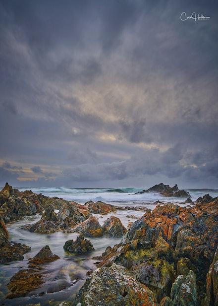 'Sarah Anne Rocks, Tarkine Coast' - The stunningly beautiful, and rugged Tarkine Coast features some of the world's wildest coastlines. Bearing the brunt...