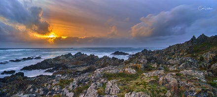 'Wild Wild West' - The Tarkine Coast at Sarah Anne Rocks is a place of rugged beauty, featuring some of the world's wildest coastlines. The brute force...