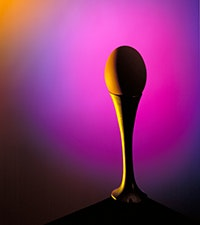 ART Rome Photographic Competition - The beginning, Egg standing on a pedestal