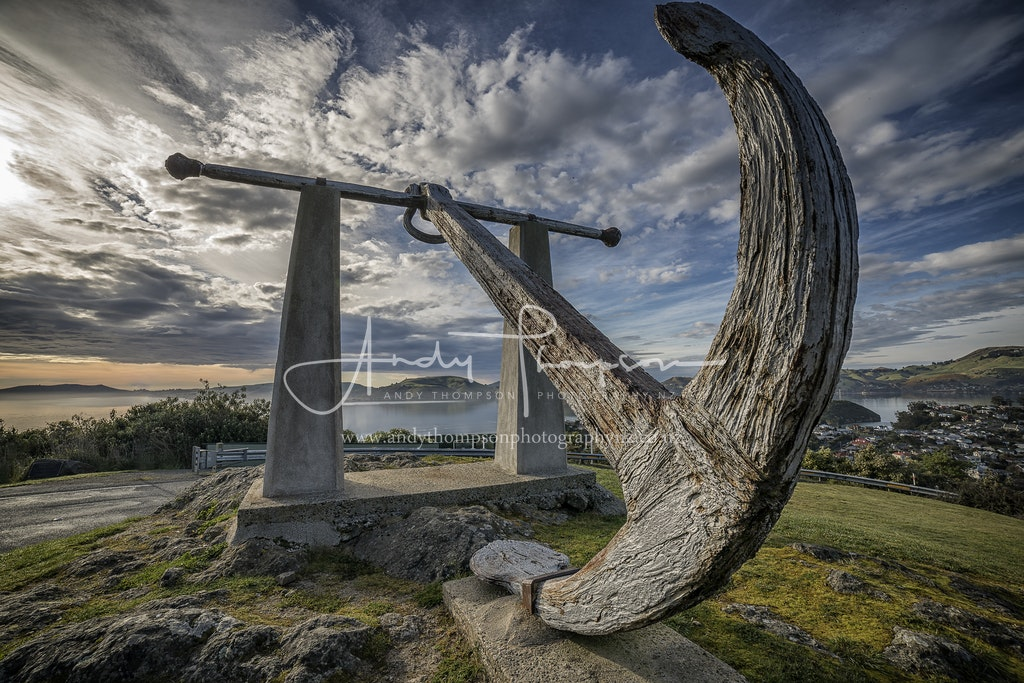 Nineteen Fathom Foul - This anchor was lost by an unknown sailing ship which had to heave to off the Otago Heads.  It was the cause of one drowning in...