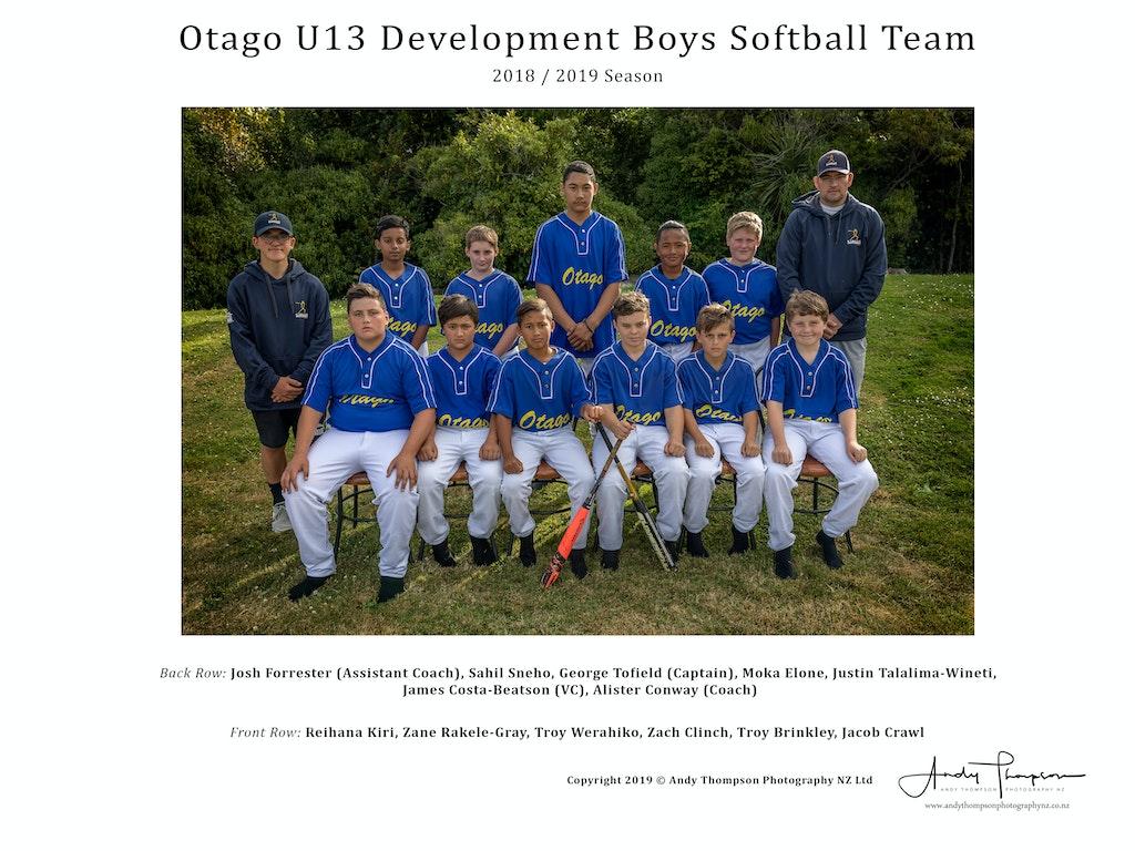 U13 Development Boys