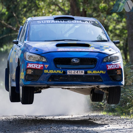 2017-Eureka-Rally-5077 - 2017 Eureka Rally: Subaru do Motorsport driver Molly Taylor and co-driver Bill Hayes in action during Round 1 of the CAMS Australian...