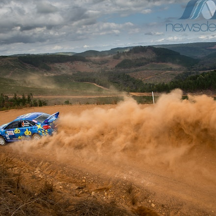 2017 Forest Rally - 2017 Forest Rally: Molly Taylor and Bill Hayes in action during Round 2 of the CAMS Australian Rally Championship.