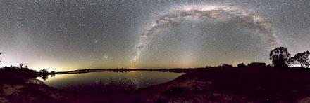 Southern Hemisphere Milky Way - Southern Hemisphere Milky Way Stitched Shots