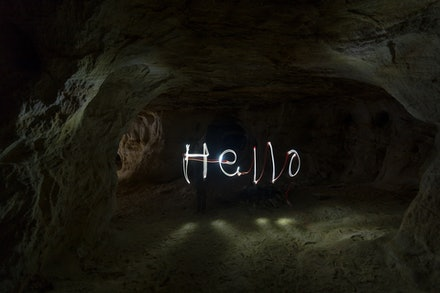Hello - Light Painting - Hello