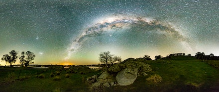 Lake_Oberon_Milky_Way-Light - Stitched Panorama