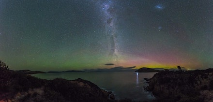 Goats Head Aurora Tasmania - Chased the Aurora for 7 nights and on the last night captured this image.