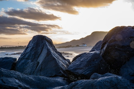 Beach Rocks - Beach rocks at the wonderful Towradgi Point, Wollongong NSW.