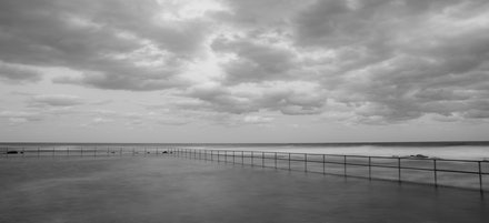 Towradgi Beach, Wollongong - An beach and jetty image; a favourite of photographers.