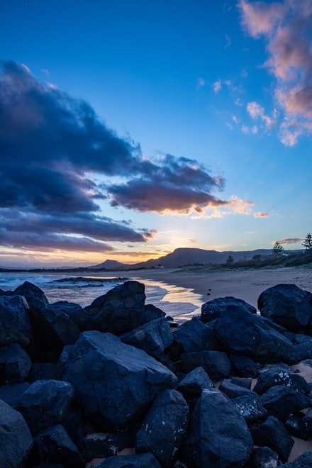 The Beach - Towradgi Point, Wollongong NSW.