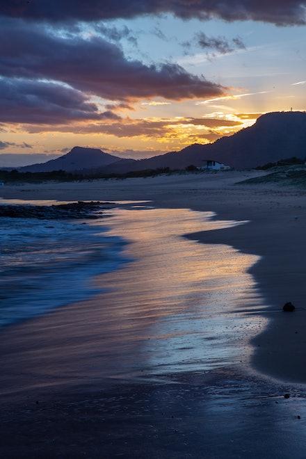 Idyllic Beach Scene - Towradgi Point, Wollongong, NSW.