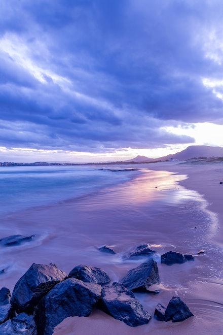 The Sea Renews - Towradgi Point, Wollongong NSW.
