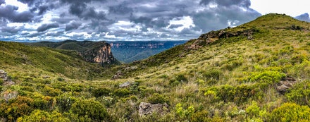 Lockley's Pylon, Blue Mountains NSW - Blue Mountains National Park yesterday, Lockley's Pylon.