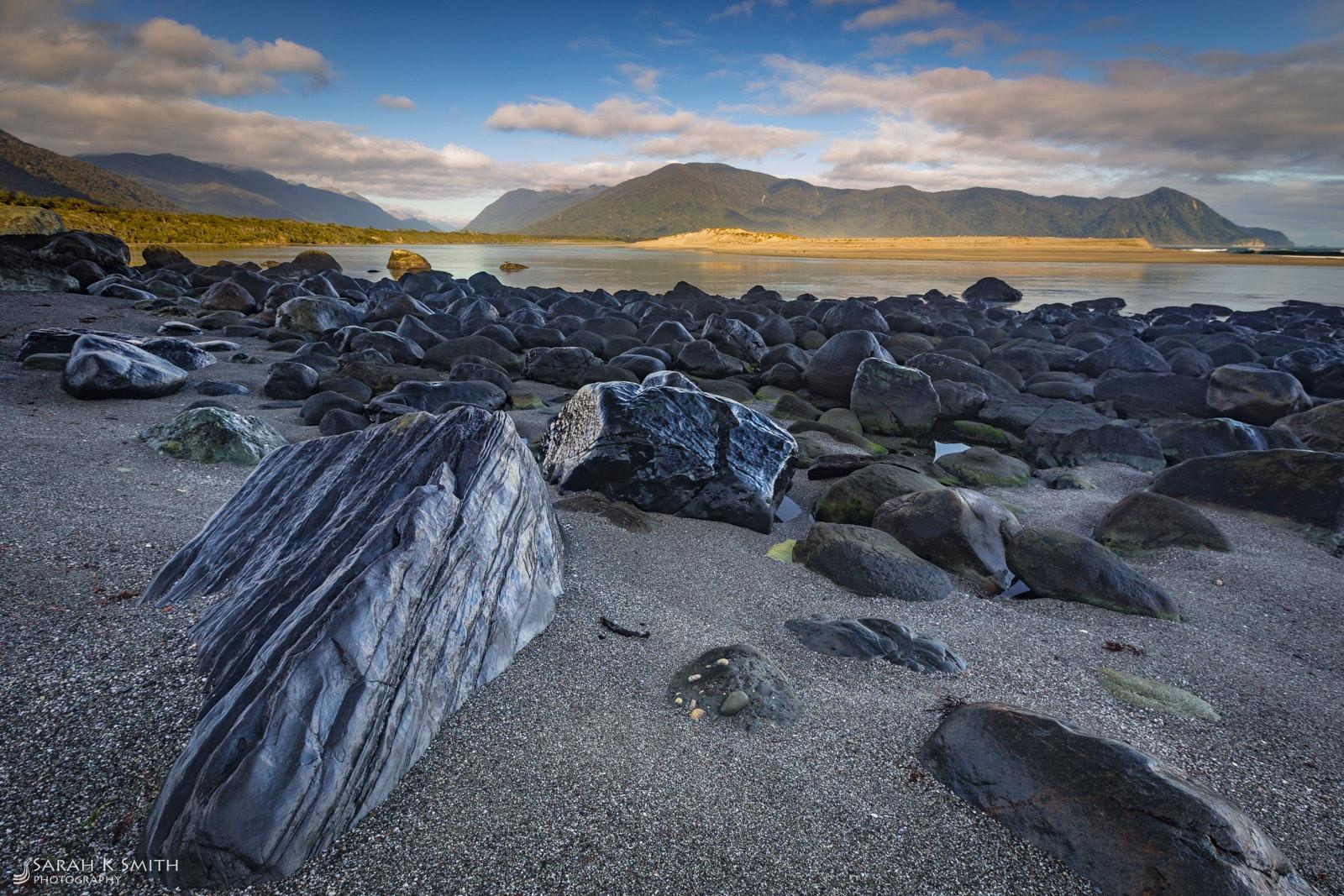A Calm Day - Hollyford Bar, Fiordland National Park