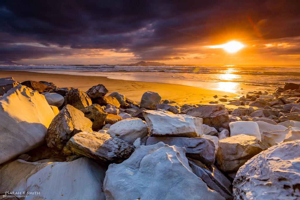Morning Colour - Mangawhai Beach, Northland